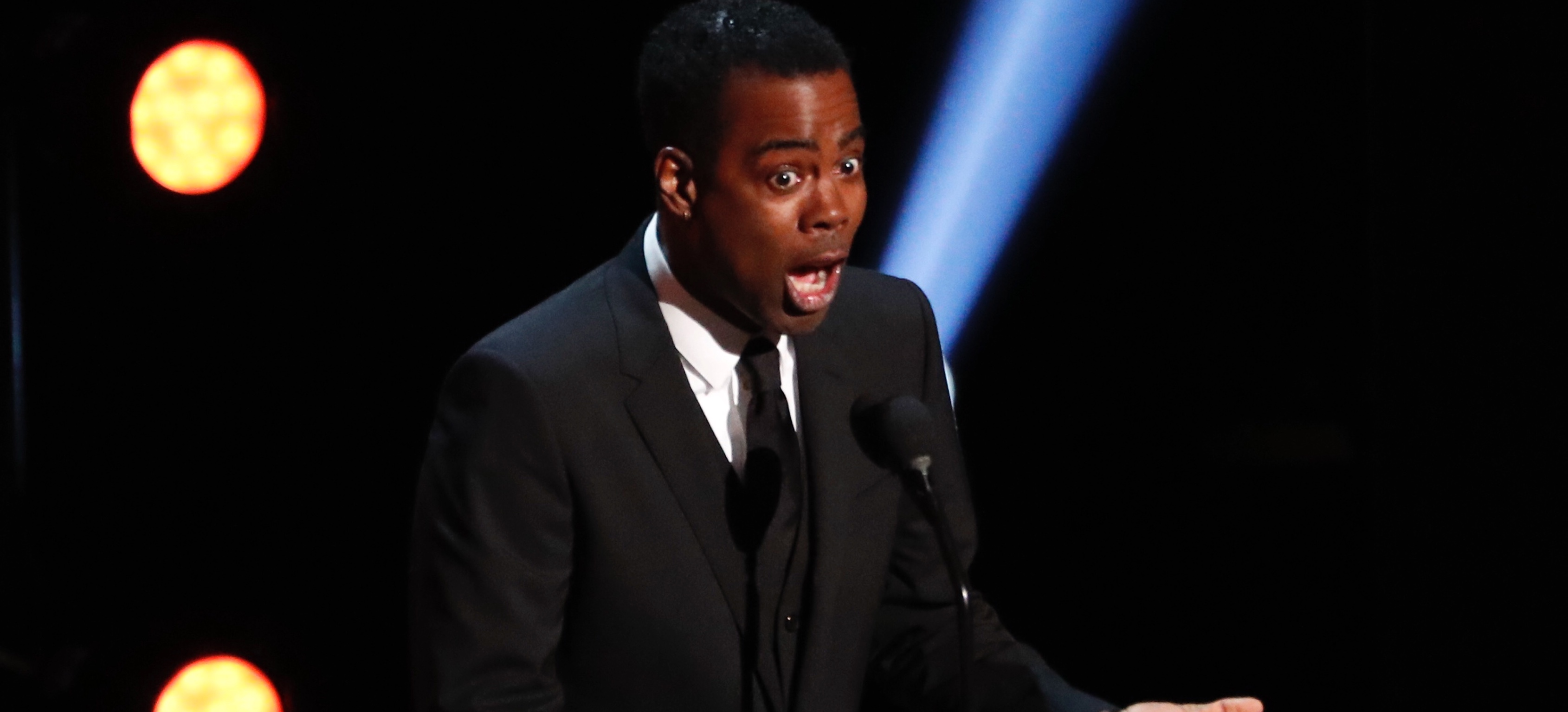 50th NAACP Image Awards - Show - Los Angeles, California, U.S., March 30, 2019 - Chris Rock speaks on stage. REUTERS/Mario Anzuoni