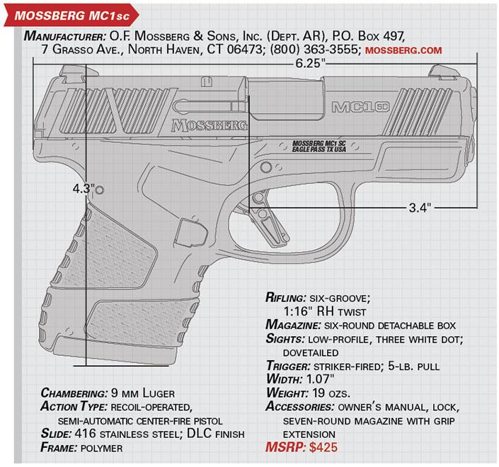 Gun Test: Mossberg's MC1sc Pistol | The Daily Caller