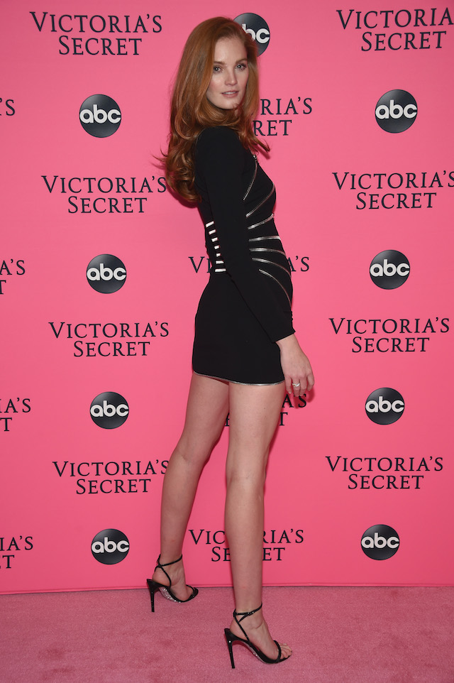Alexina Graham attends the Victoria's Secret Viewing Party ar Spring Studios on December 2, 2018 in New York City. (Photo by Dimitrios Kambouris/Getty Images for Victoria's Secret)