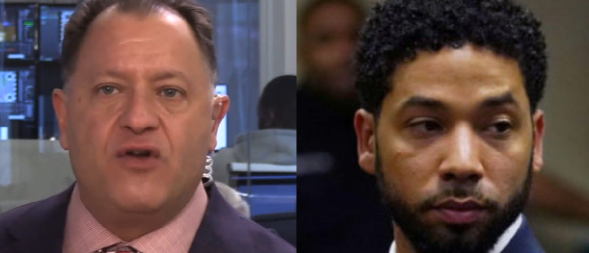 Left: Defense attorney and former prosecutor Bob Bianchi , Right: Actor Jussie Smollett makes a court appearance at the Leighton Criminal Court Building in Chicago, Illinois, U.S., March 14, 2019. E. Jason Wambsgans/Pool via REUTERS/File Photo