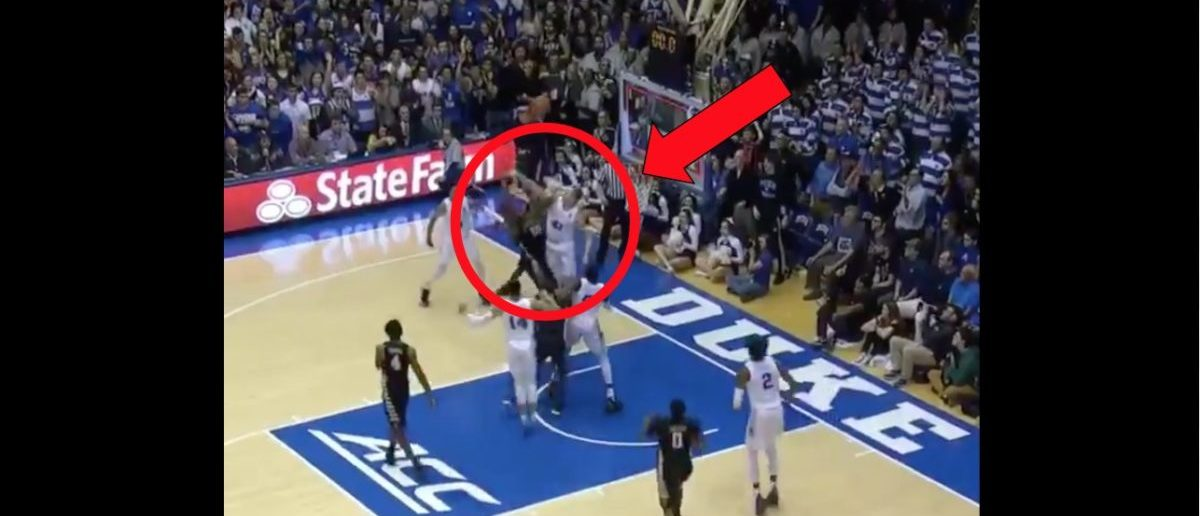 Duke Escapes Wake Forest Game With A Win. Watch The Wild ...