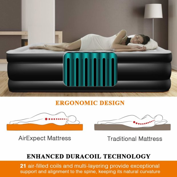 Get your best sleep ever with duracoil technology. (Photo via Amazon)