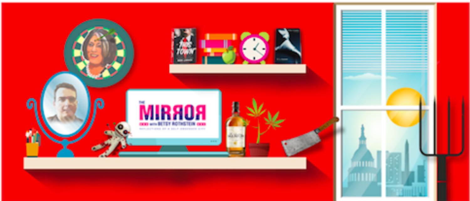 Afternoon Mirror: Male Journos Flirt And Fight About Morality And Who's More Relevant