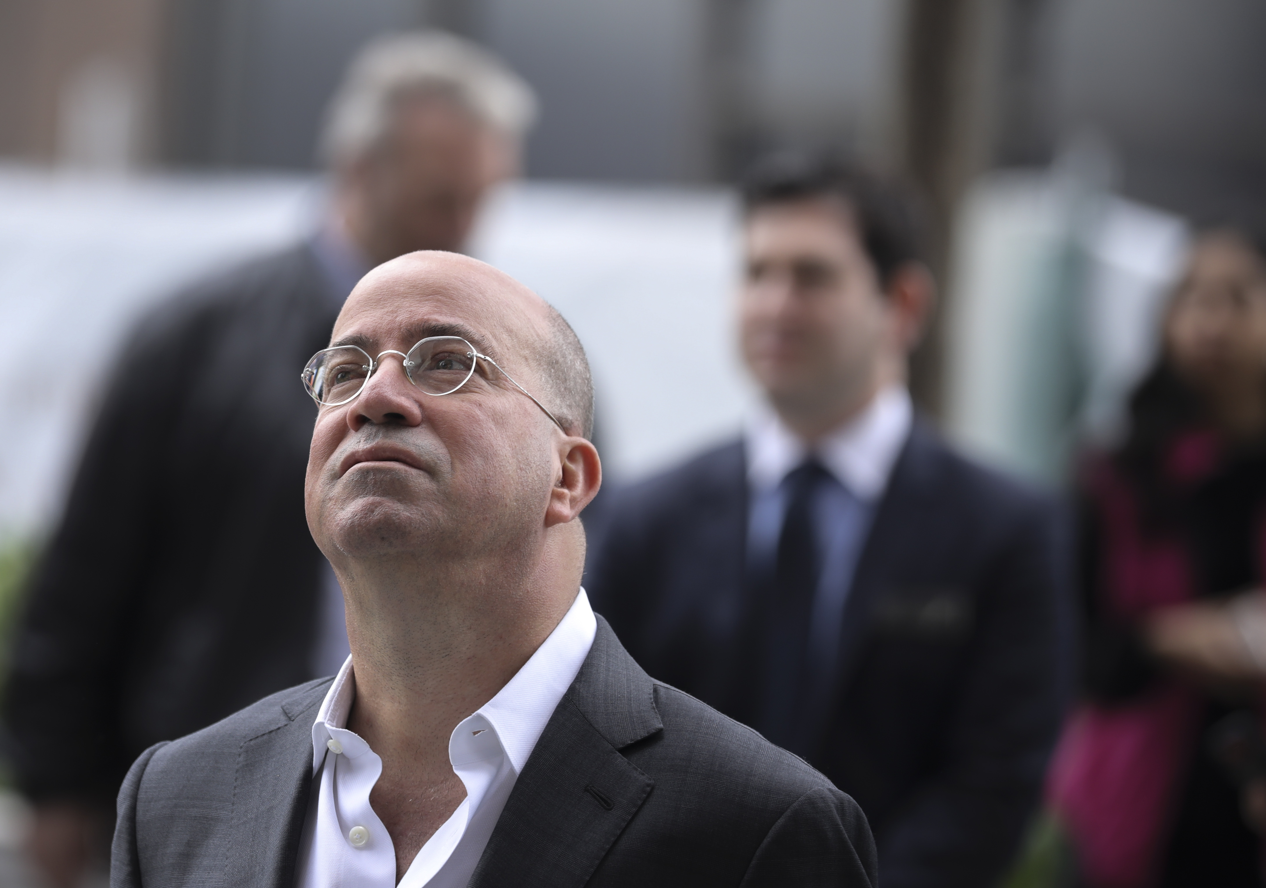 President of CNN Jeff Zucker attends the grand opening of phase one of the Hudson Yards development on the West Side of Midtown Manhattan (Photo by Drew Angerer/Getty Images)