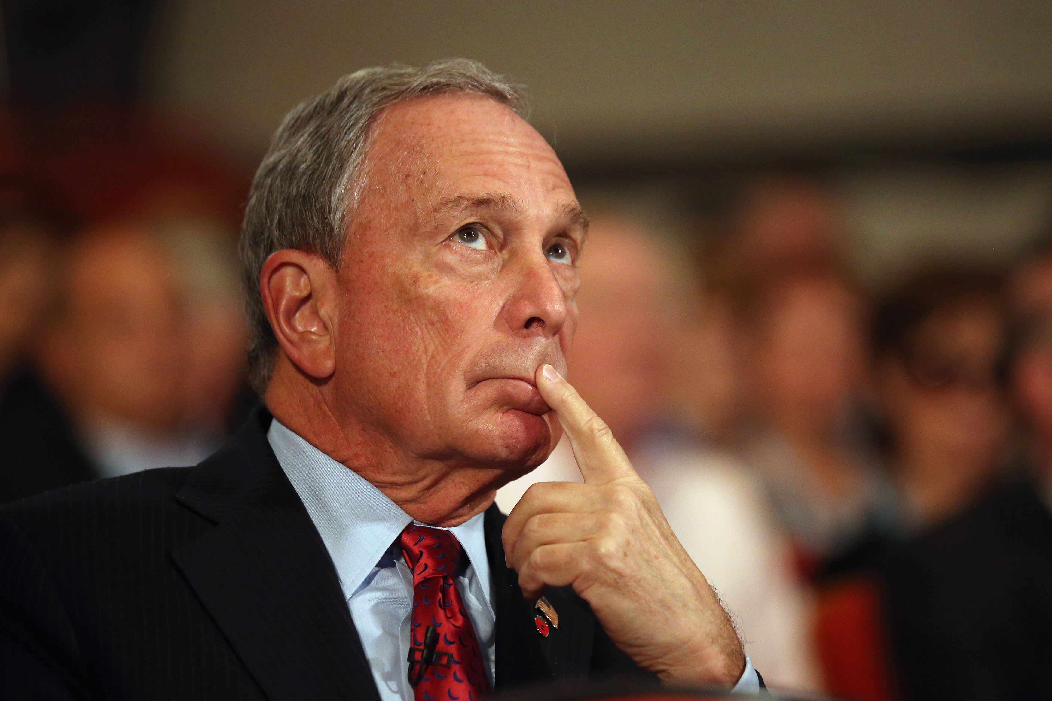 Michael Bloomberg, the Mayor of New York City ... (Photo by Oli Scarff/Getty Images)