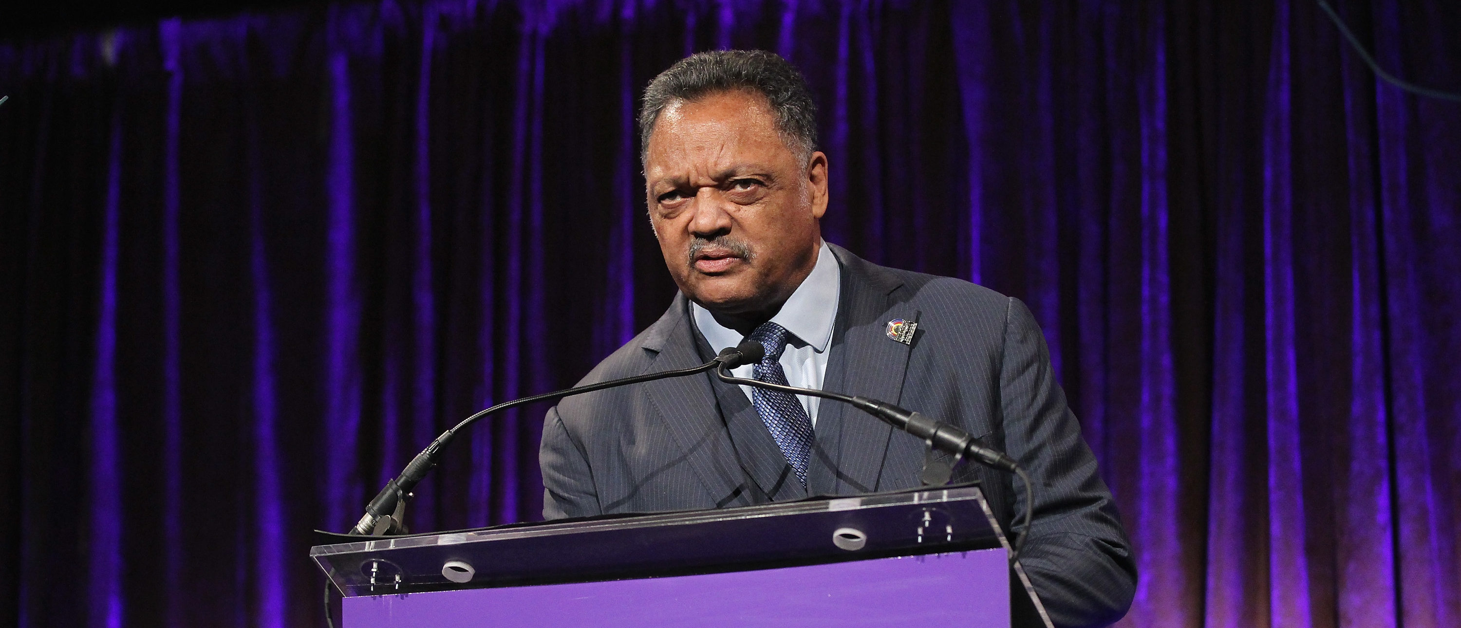 NEW YORK, NY - JANUARY 30: Jesse Jackson speaks onstage during the National CARES Mentoring Movement?s 2nd Annual 'For the Love of Our Children' Gala at Cipriani 42nd Street on January 30, 2017 in New York City. (Photo by Bennett Raglin/Getty Images for for National CARES Mentoring Movement)