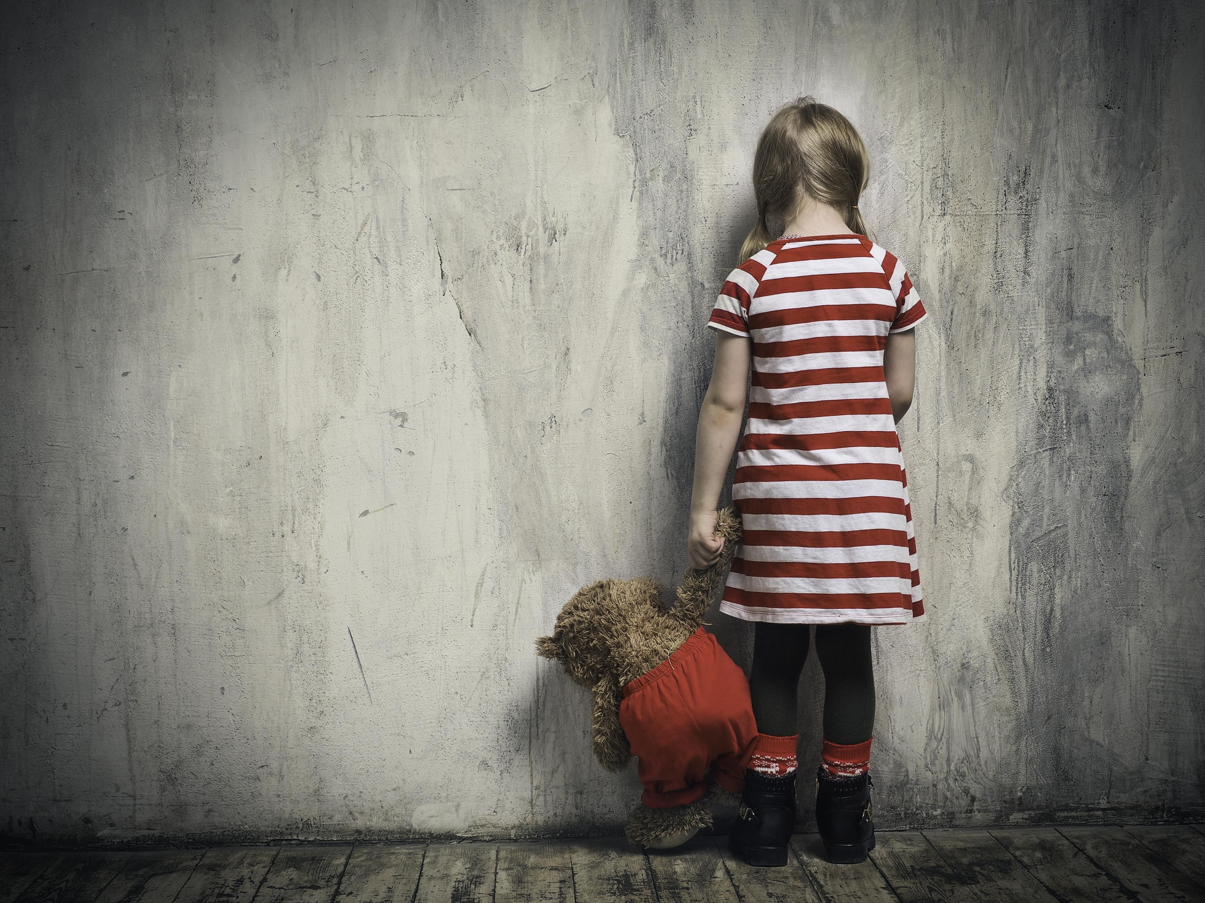 Pictured is a sad girl. SHUTTERSTOCK/ Irina Kozorog