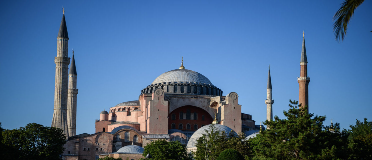Erdogan Suggests Turning Former Cathedral Hagia Sophia Into Mosque