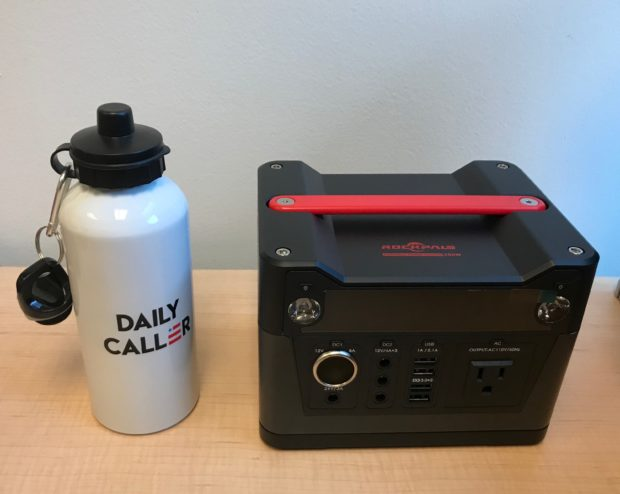 This power station can reliably charge most of your devices in the event of an emergency or for recreation!