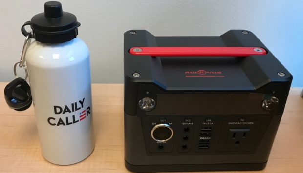 The Rockpals 300Watt Portable Power Station helps you keep all your essential devices charged up and ready!
