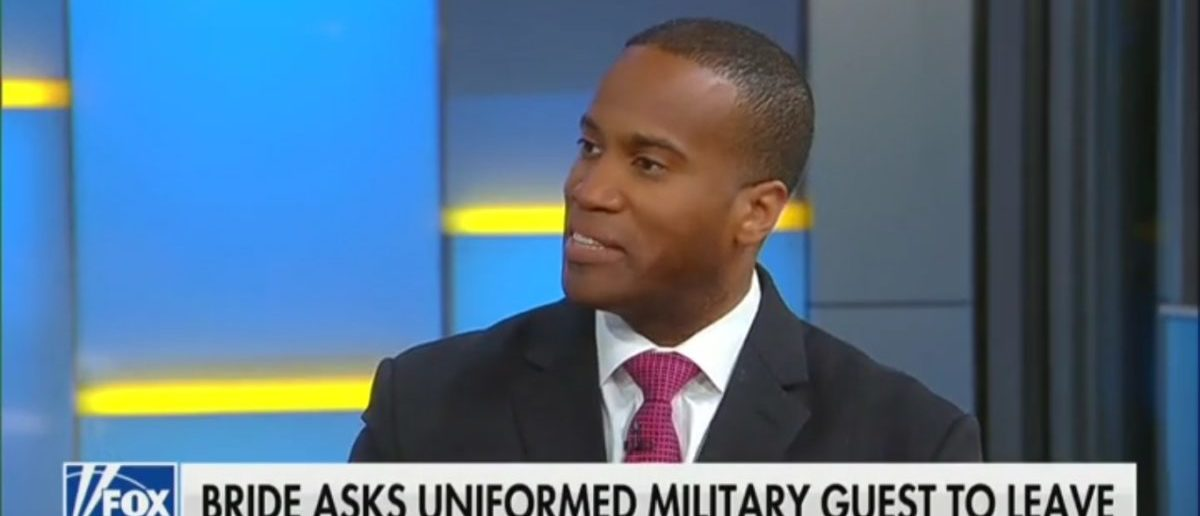 John James Reacts To Bride Who Kicked Military Man Out Of Her Wedding -- Fox & Friends 3-27-19