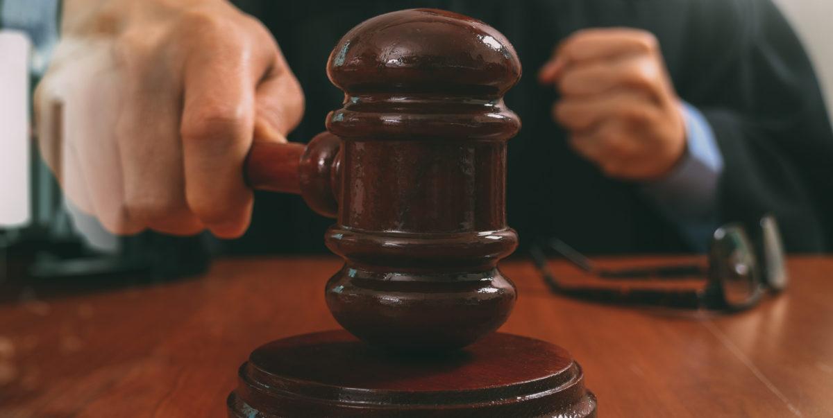Judge Gavel. Shutterstock