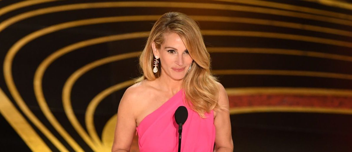 US actress Julia Roberts presents the Best Picture of the year Oscar during the 91st Annual Academy Awards at the Dolby Theatre in Hollywood, California on February 24, 2019. (Photo credit VALERIE MACON/AFP/Getty Images)