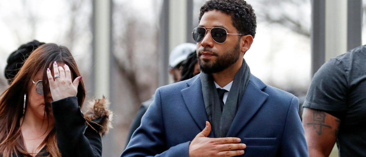 Actor Jussie Smollett arrives at the Leighton Criminal Court Building in Chicago, Illinois, U.S., March 14, 2019. REUTERS/Kamil Krzaczynski