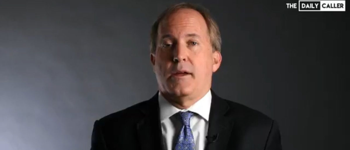 Texas Attorney General Ken Paxton (The Daily Caller)