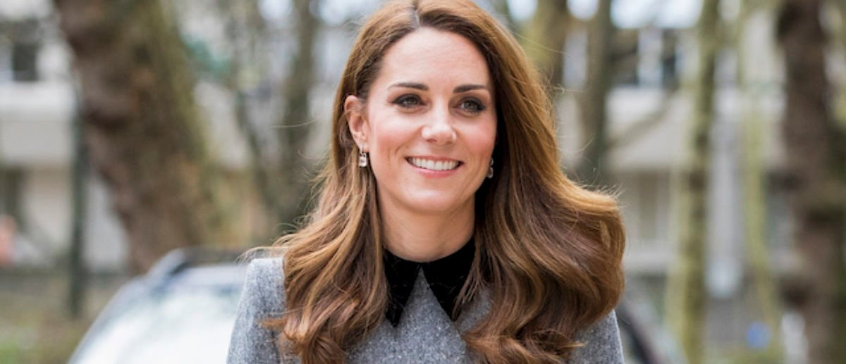 Kate Middleton Wows In Grey Belted Dress And Hat Combo At King's College London
