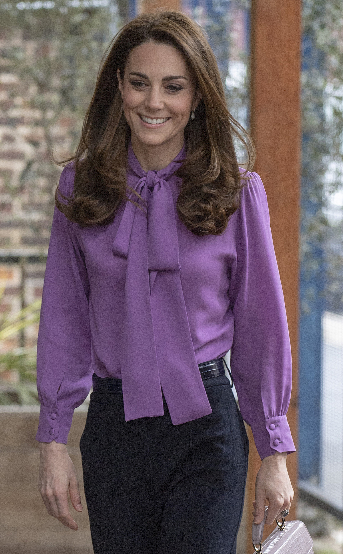 Britain's Catherine, Duchess of Cambridge visits the Henry Fawcett Children's Centre in London on March 12, 2019. - The Duchess visited the Henry Fawcett Childrens Centre to learn more about the work being done by local organisations in Lambeth and their partners to support young children and their families. (Photo credit should read ARTHUR EDWARDS/AFP/Getty Images)