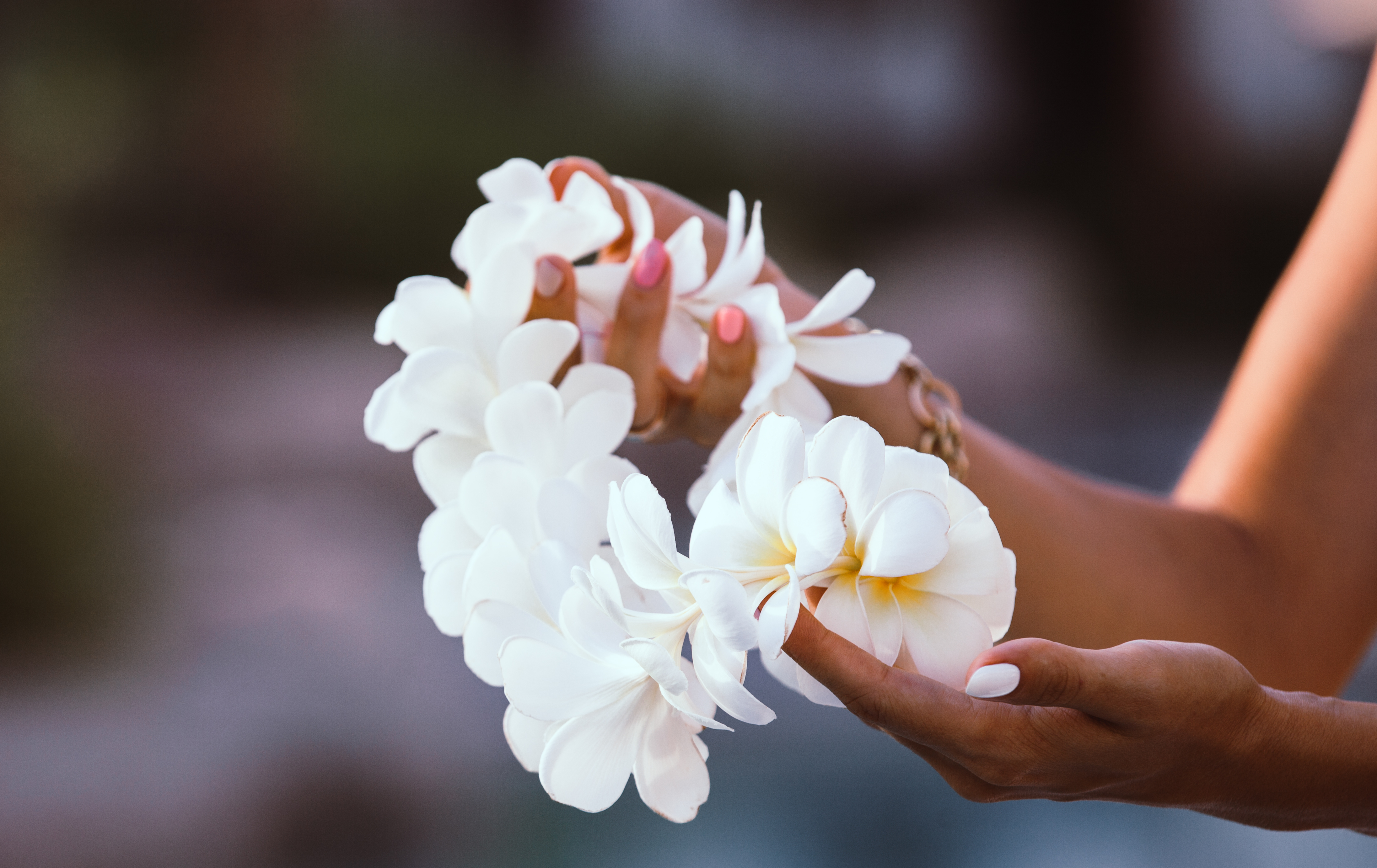 Pictured is a lei. SHUTTERSTOCK/ AbElena