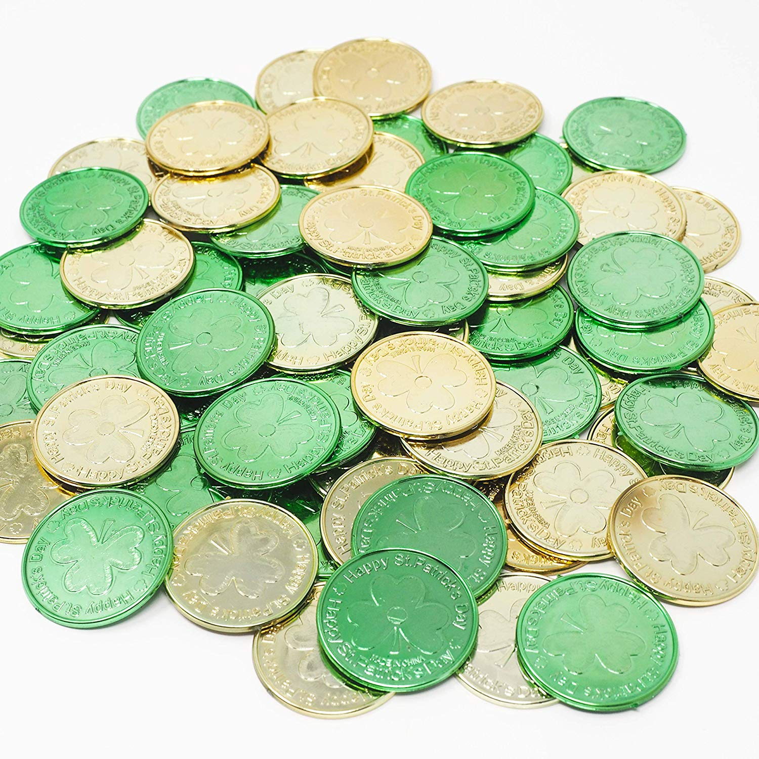 These lucky coins are perfect for decoration or for various games (Photo via Amazon)