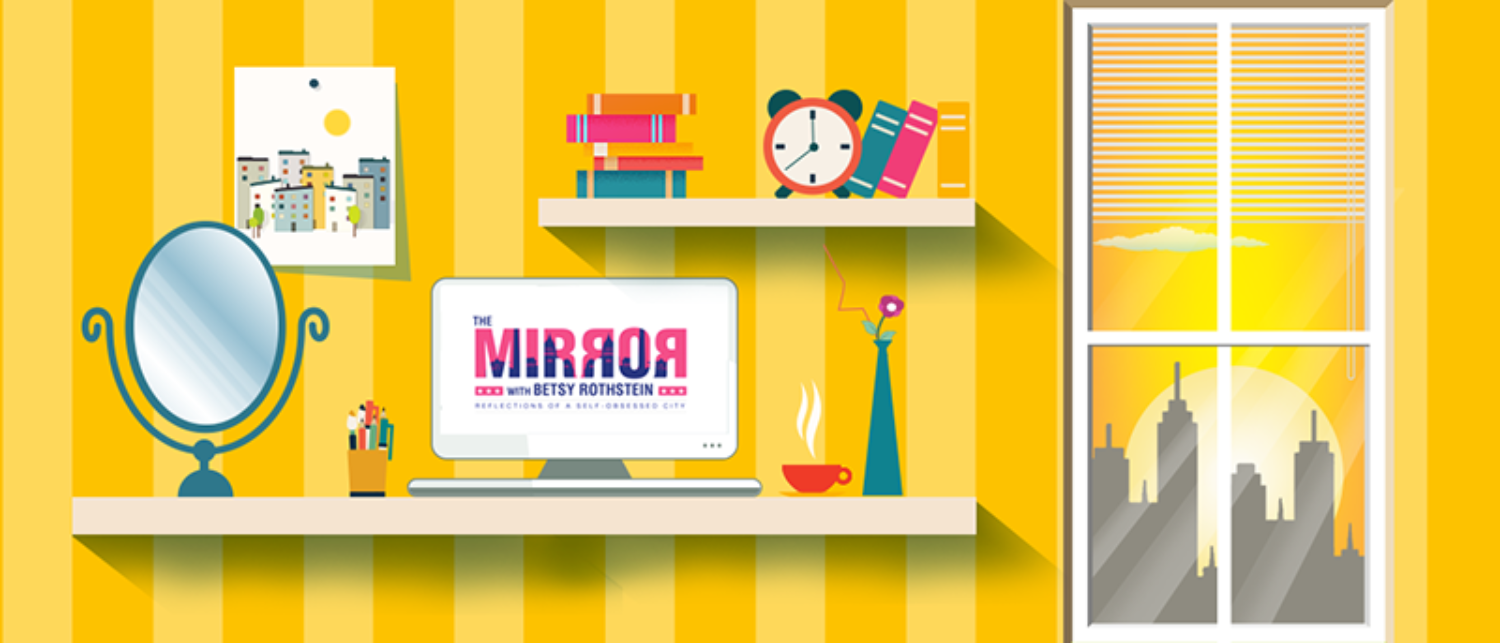 Mirror Graphic/yellow/TheDC.