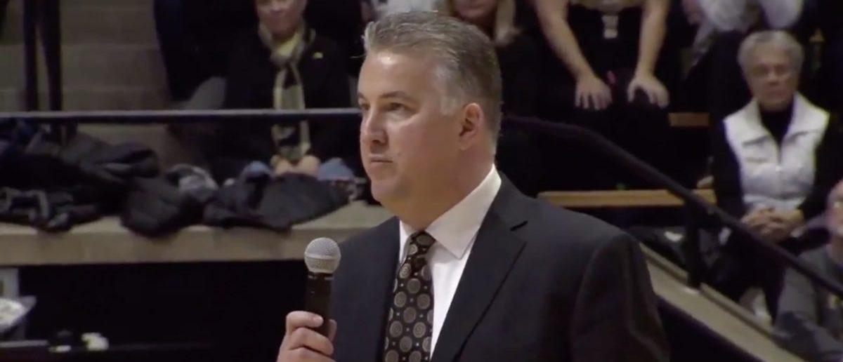 Matt Painter Tells Purdue Students To Stop Chanting 'IU Sucks'