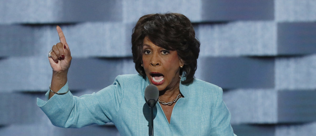 U.S. Representative Maxine Waters speaks on the third day of the Democratic National Convention in Philadelphia, Pennsylvania, U.S. July 27, 2016. REUTERS/Mike Segar