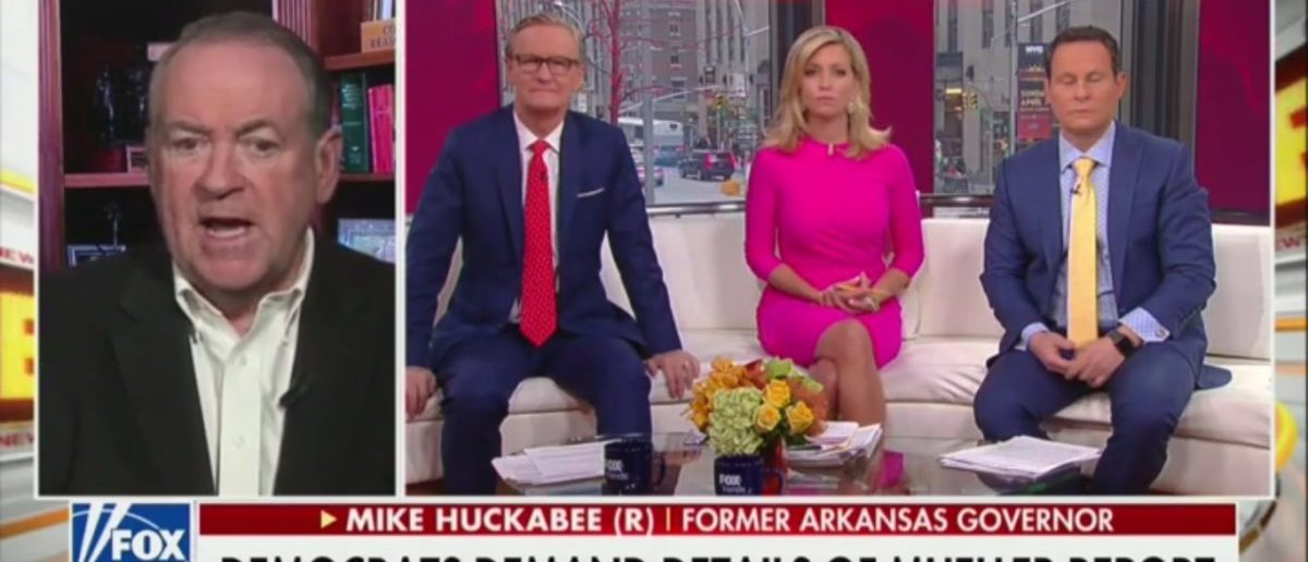 Mike Huckabee Believes One Person Escaped Blame For Russia Fiasco