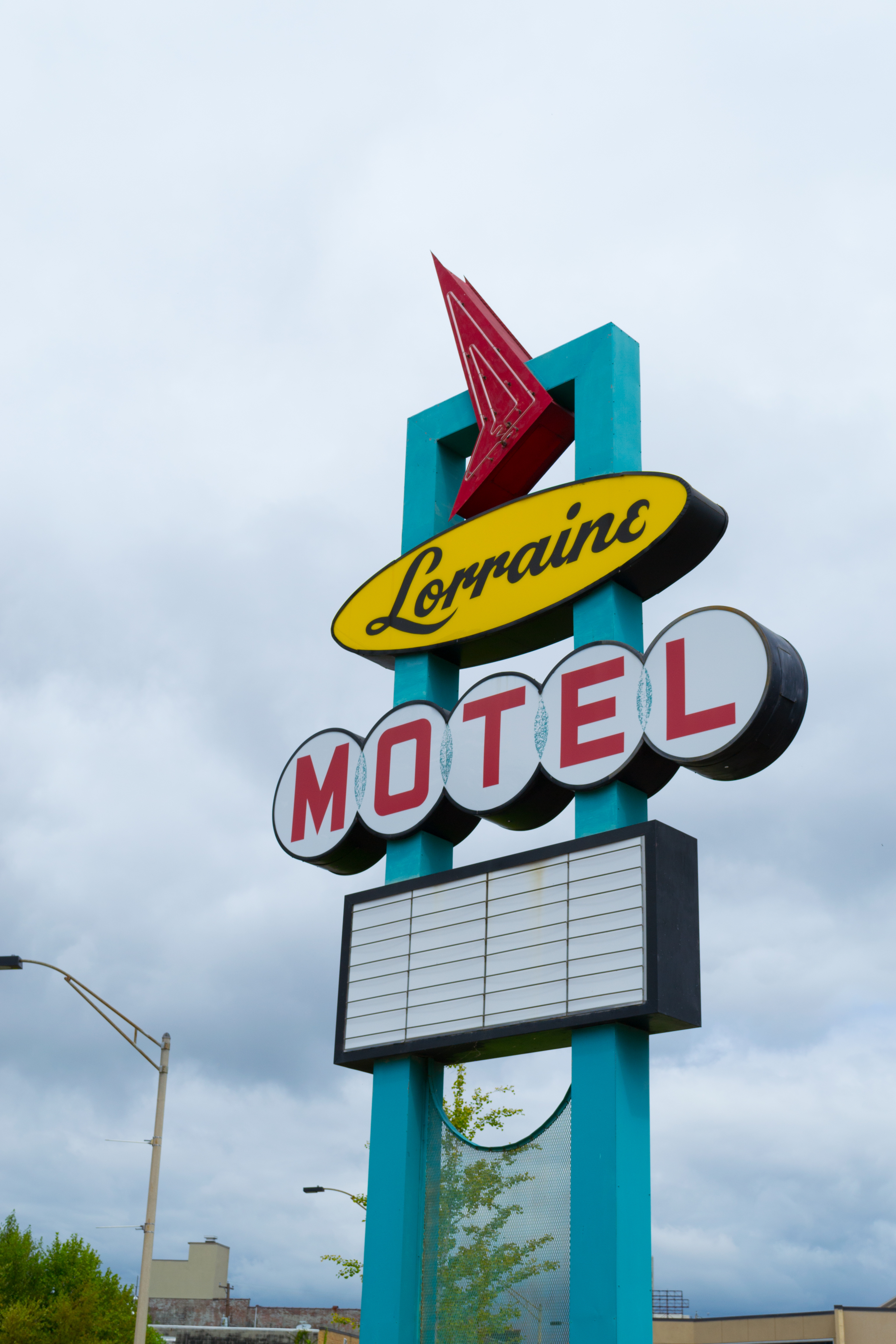 The Lorraine Motel is where Martin Luther King was assassinated, now it hosts the museum of human rights. SHUTTERSTOCK/ Ruben Martinez Barricarte