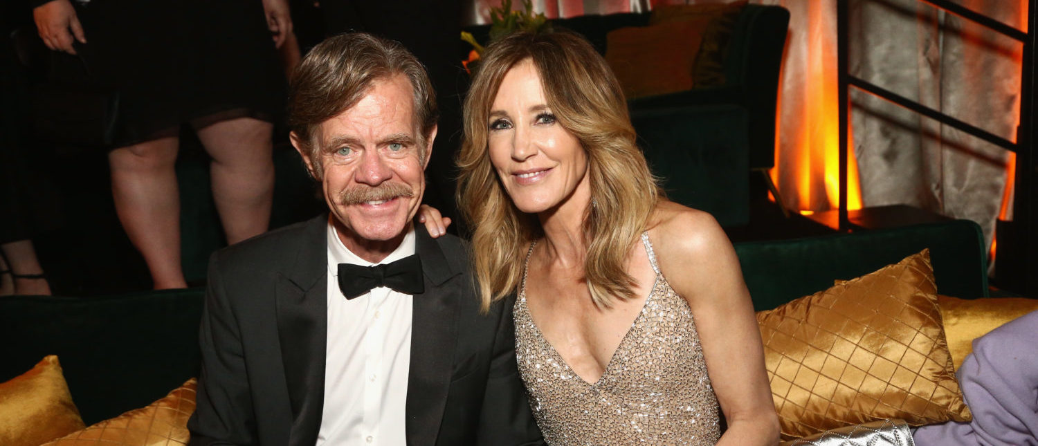 LOS ANGELES, CA - JANUARY 06: Felicity Huffman (R) and William H. Macy attend the Netflix 2019 Golden Globes After Party on January 6, 2019 in Los Angeles, California. (Photo by Tommaso Boddi/Getty Images for Netflix)