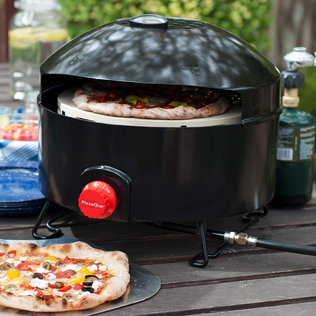 In just 15 mins, your perfect pizza will be ready! (Photo via Amazon)
