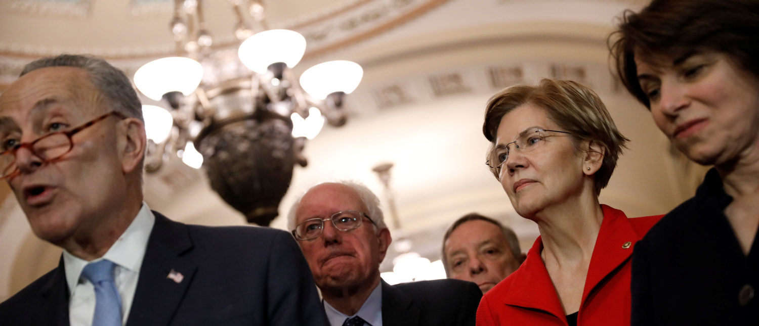 Amy Klobuchar Distances Herself From Bernie: 'I Am Not a Socialist, I Am a Democrat'