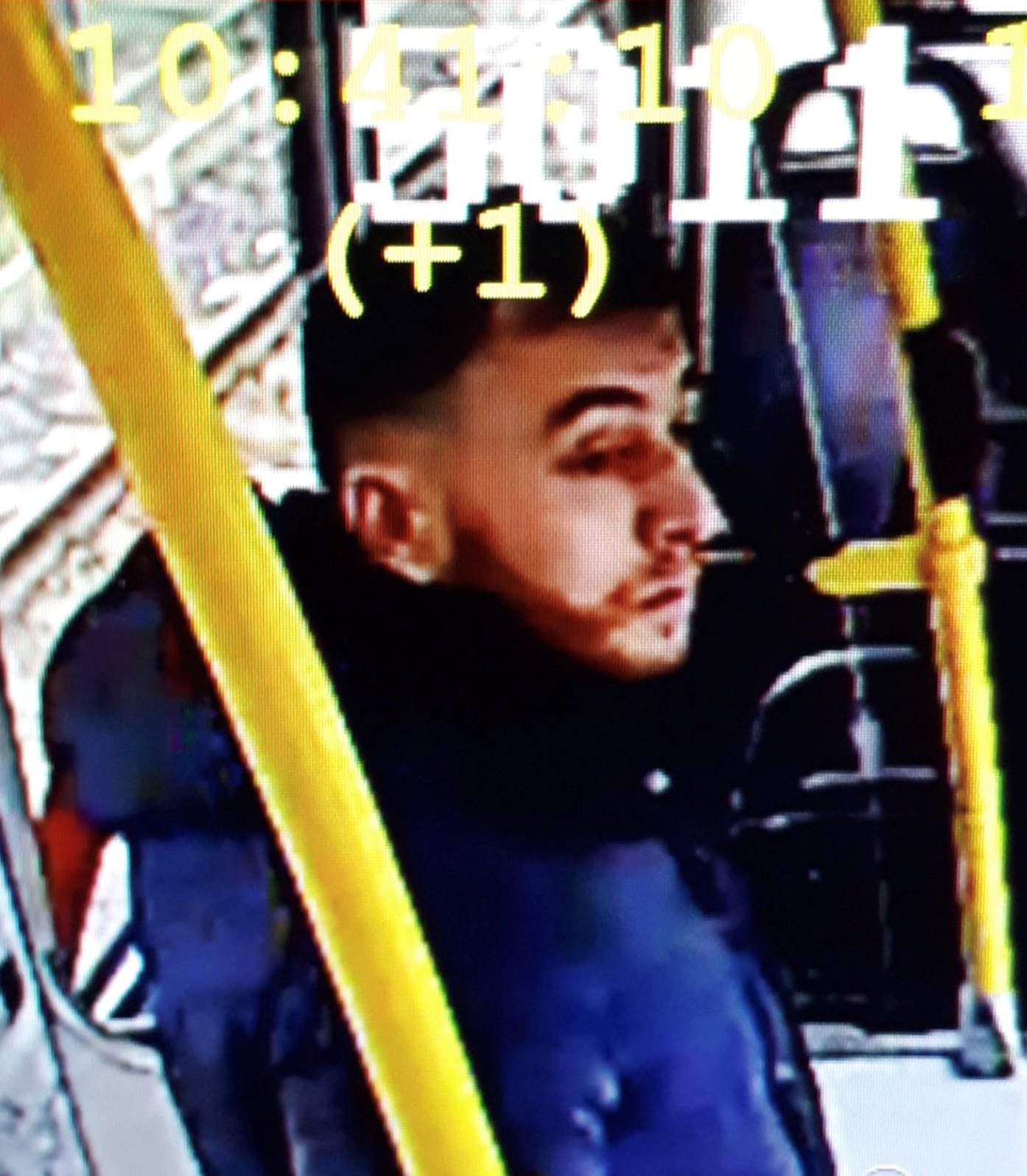 Handout still image taken from CCTV footage shows a man who has been named as a suspect in Monday's shooting in Utrecht, Netherlands, in a still image from CCTV footage released by the Utrecht Police on March 18, 2019 REUTERS/Utrecht Police/Handout via Reuters