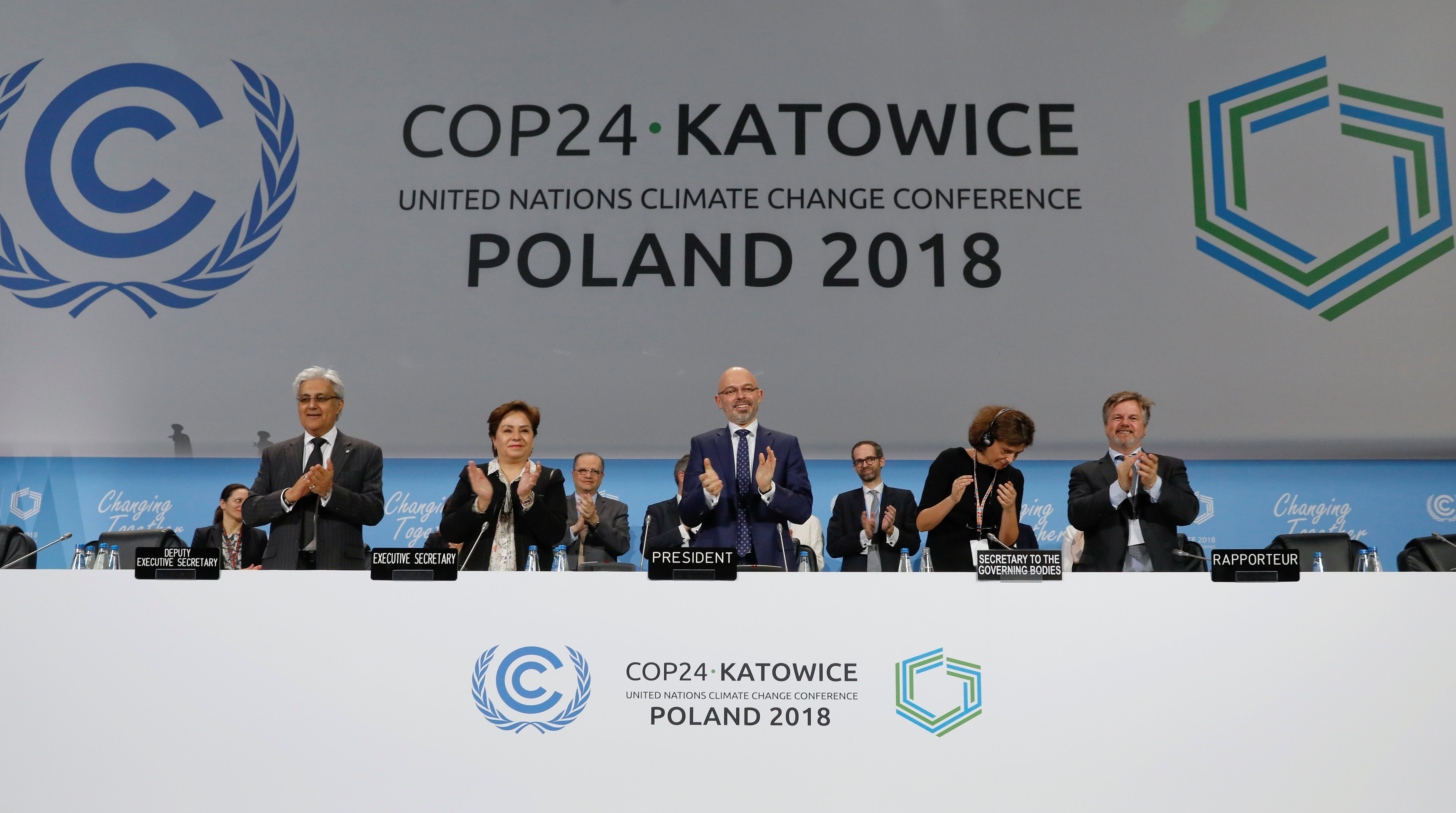 Final session of the COP24 U.N. Climate Change Conference 2018 in Katowice