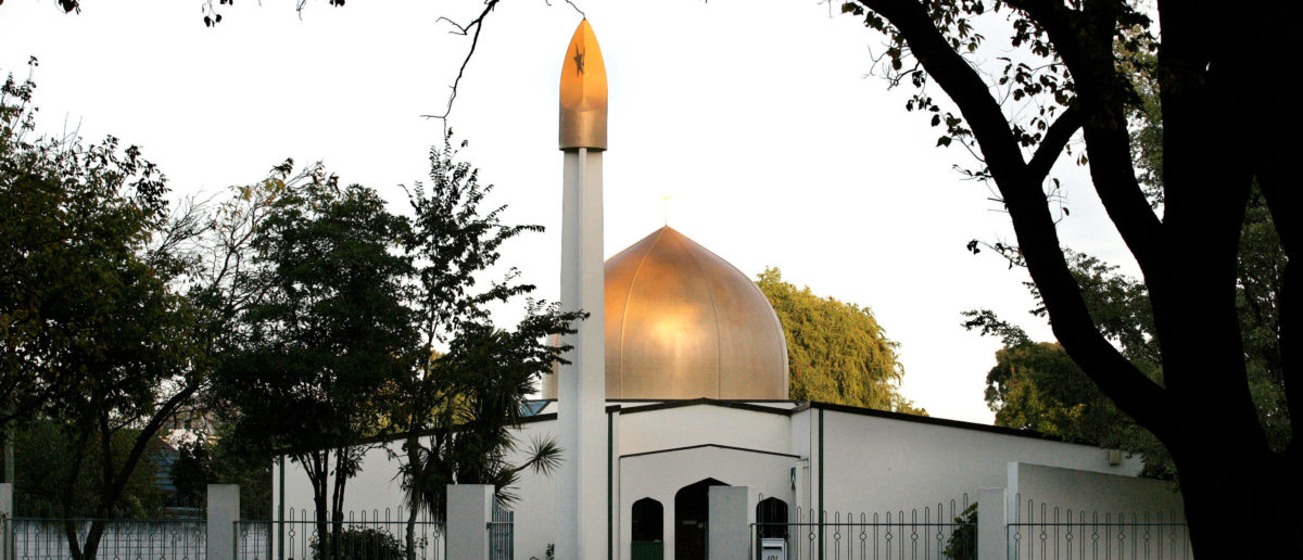 A view of the Al Noor Mosque on Deans Avenue in Christchurch, New Zealand, taken in 2014. REUTERS/SNPA/Martin Hunter