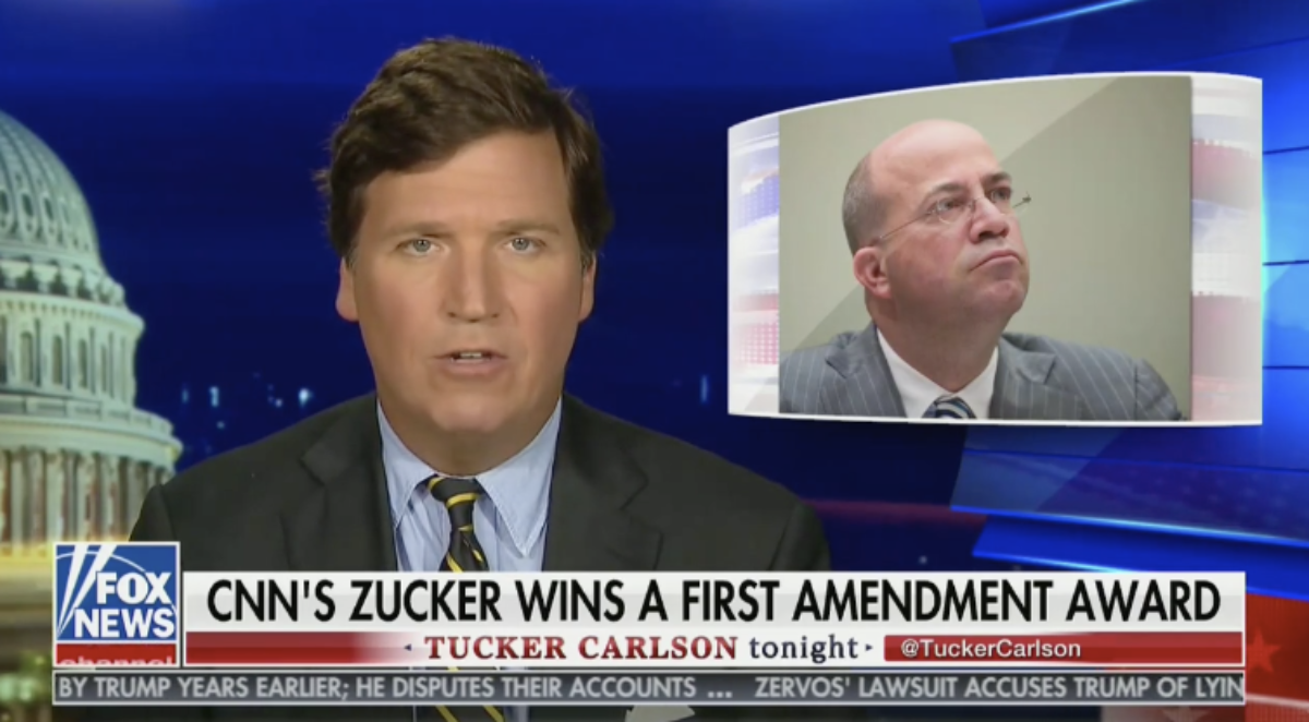 Tucker Rips Remaining Participants Of WH Correspondents' Dinner