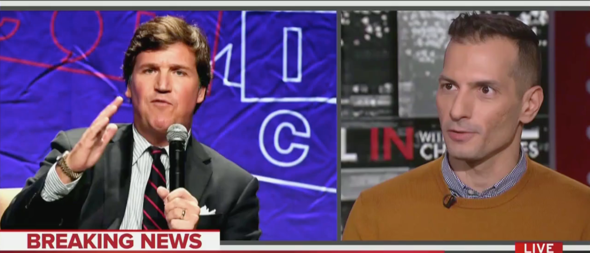 """Angelo Carusone on """"All In With Chris Hayes"""" (MSNBC Screenshot)"""