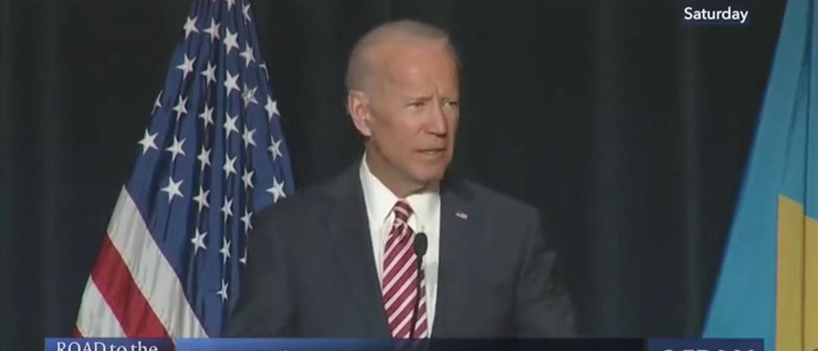 Joe Biden at Delaware Democratic Dinner (CSPAN Screenshot)