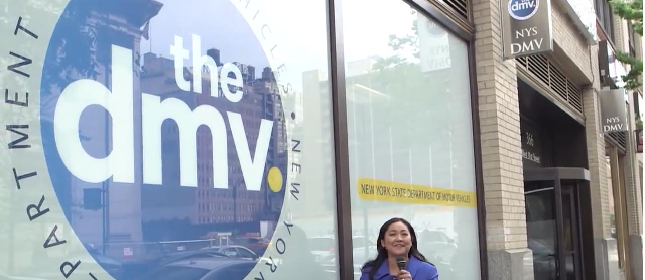 NYS DMV location (Credit: NYS DMV YouTube Video Screenshot)