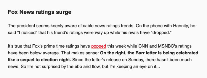 CNN's Brian Stelter Claims Ratings Are Down Because It's A Slow News
