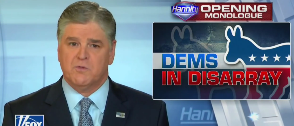 Hannity: DNC Not Giving Fox News A Presidential Debate Is 'Pretty Gutless'