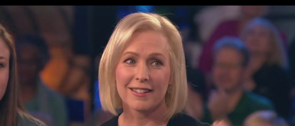 Dem. Sen. Kirsten Gillibrand claims to have the best voting record against Trump nominees of anyone running for president MSNBC Screenshot