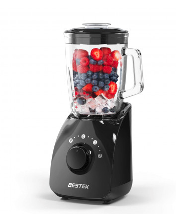 Why overpay for a blender? This blender can effortlessly make smoothies and more (Photo via Bestek)