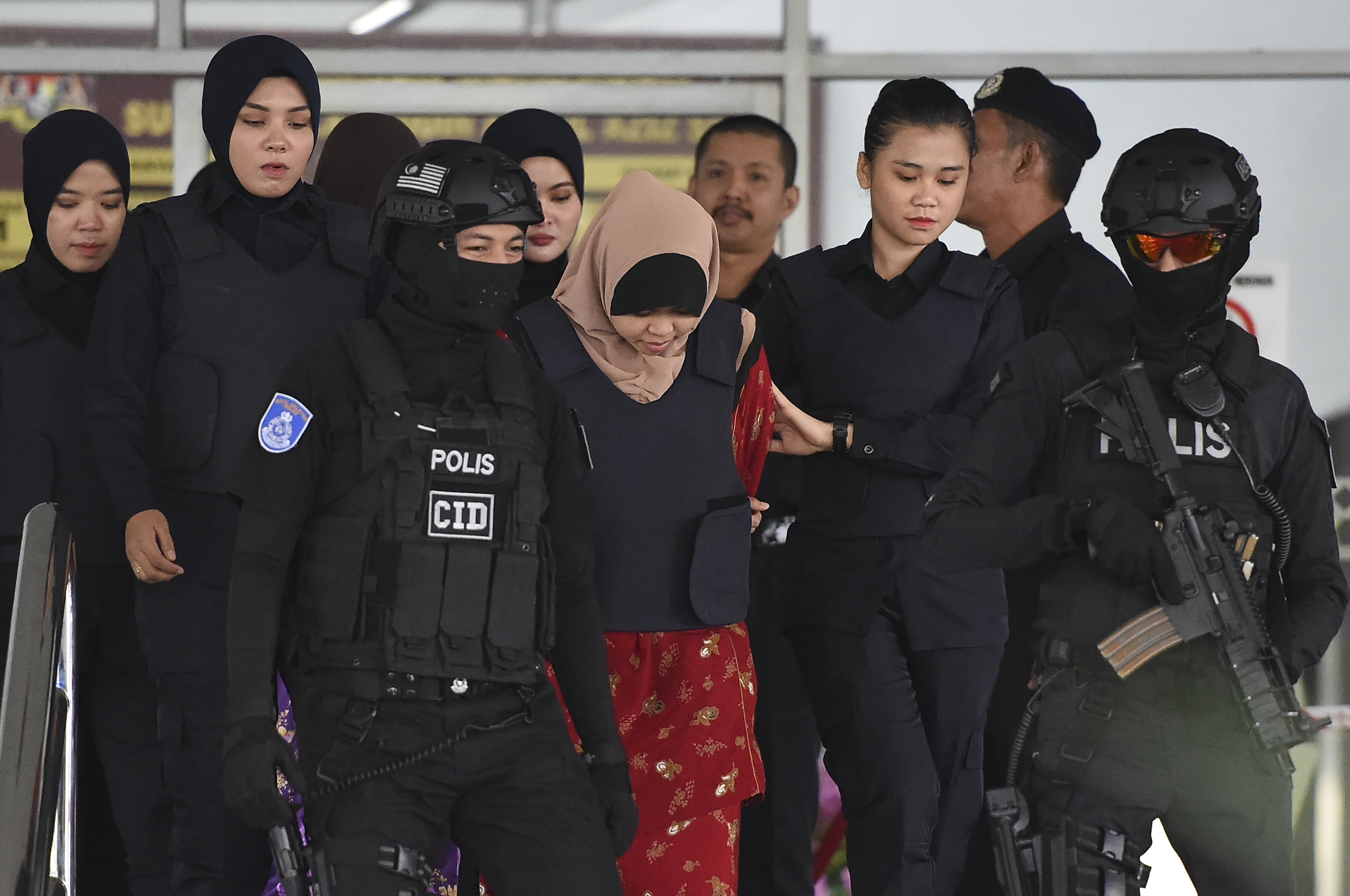 Kim Jong-nam murder: suspect Siti Aisyah released after charge dropped