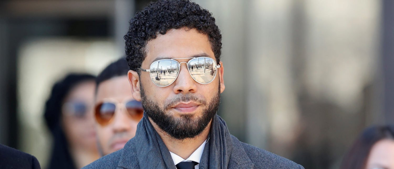Actor Jussie Smollett leaves the Leighton Criminal Court Building after attending a hearing on whether cameras will be allowed in future proceedings of his trial on felony charges, in Chicago, Illinois, U.S., March 12, 2019. REUTERS/Kamil Krzaczynski