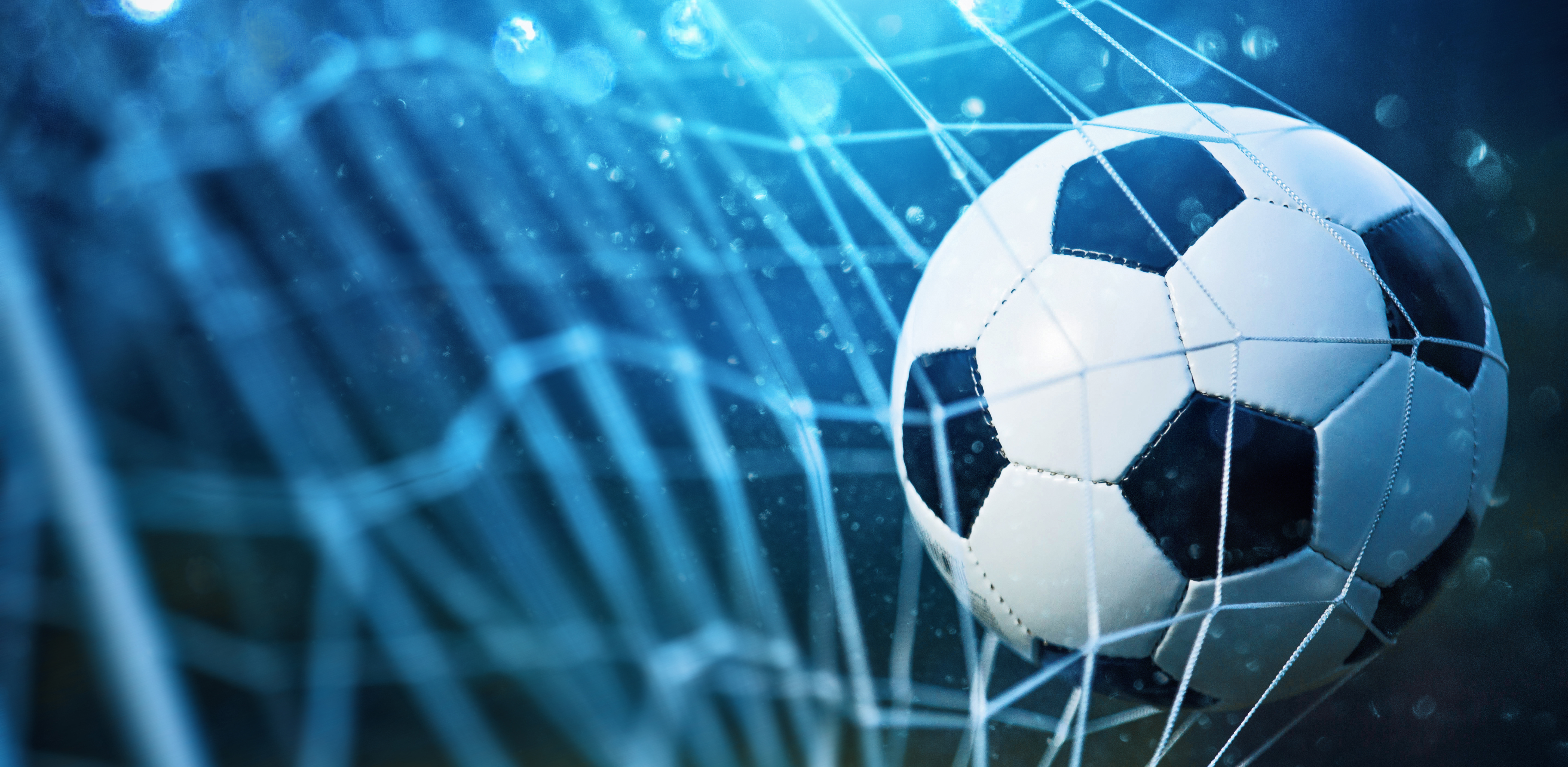 Pictured is a soccer ball. SHUTTERSTOCK/Pasko Maksim