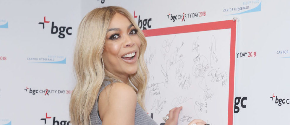 Wendy Williams attends Annual Charity Day hosted by Cantor Fitzgerald, BGC and GFI at BGC Partners, INC on September 11, 2018 in New York City. (Photo by Robin Marchant/Getty Images for Cantor Fitzgerald)