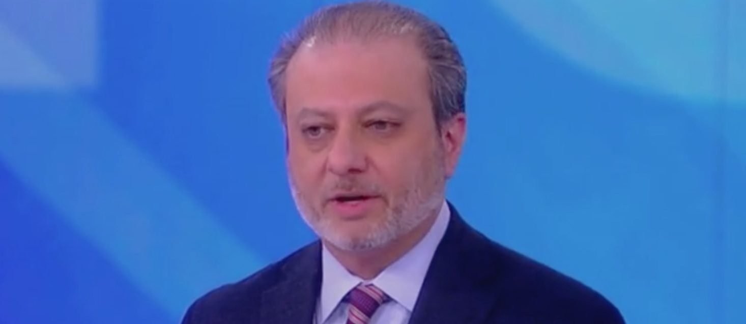 """Former US Attorney Preet Bharara appears on ABC's """"The View."""" Screen Shot/ABC"""