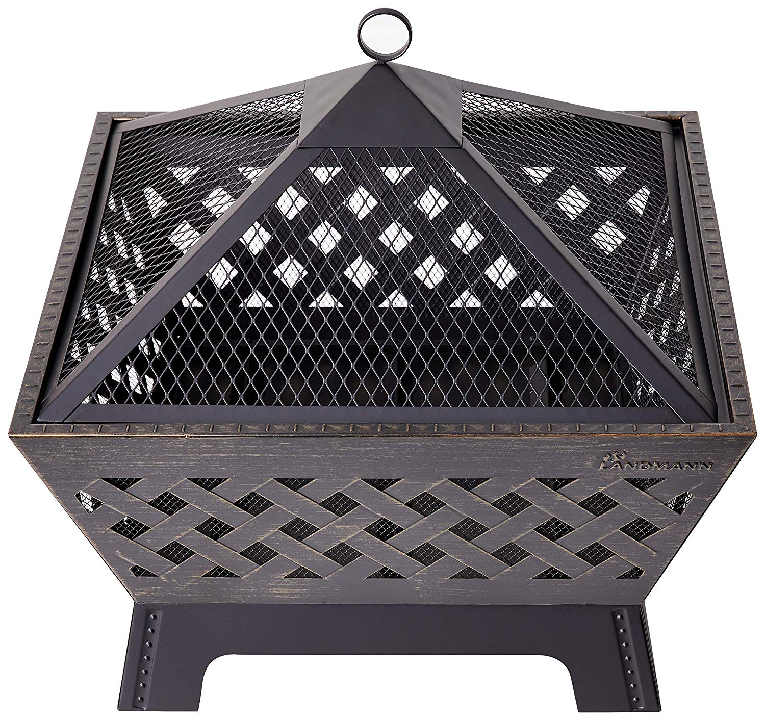If you like this traditional fire-pit design, it is on sale now for under $100 Photo via Amazon)