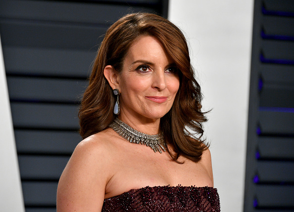 BEVERLY HILLS, CA - FEBRUARY 24: Tina Fey attends the 2019 Vanity Fair Oscar Party hosted by Radhika Jones at Wallis Annenberg Center for the Performing Arts on February 24, 2019 in Beverly Hills, California. (Photo by Dia Dipasupil/Getty Images)