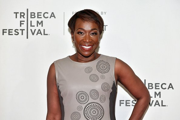 "NEW YORK, NY - APRIL 20: Moderator Joy Reid attends the ""Rest In Power: The Trayvon Martin Story"" premiere during the 2018 Tribeca Film Festival at BMCC Tribeca PAC on April 20, 2018 in New York City. (Photo by Dia Dipasupil/Getty Images for Tribeca Film Festival)"